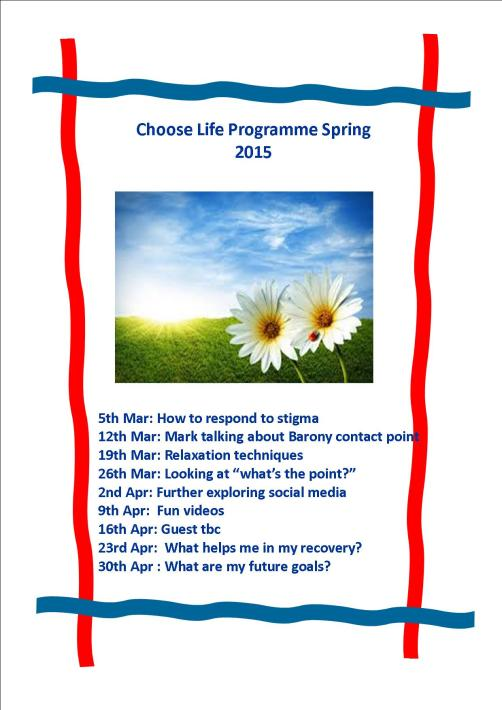 Spring Programme