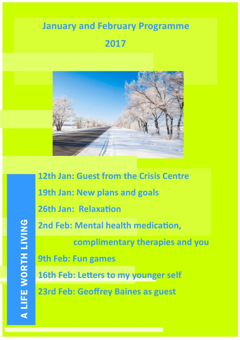 Jan and Feb Programme