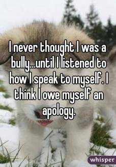 self bully