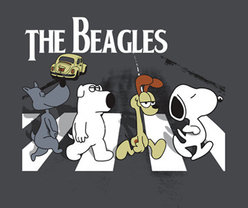 the-beagles-beatles-parody-t-shirt-porkchop-brian-odie-and-snoopy